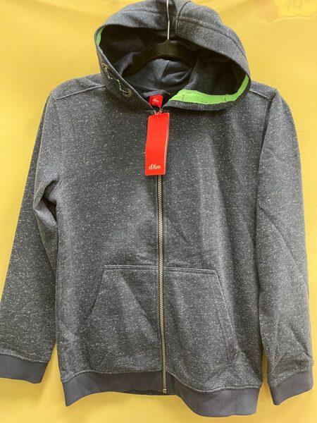 s.Oliver jaka/152cm/Pelēka ar kapuci