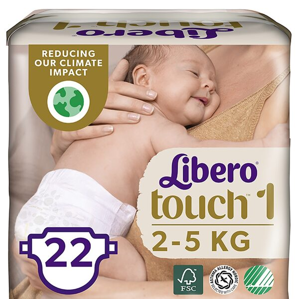 Libero TOUCH 1(22)/2-5 kg
