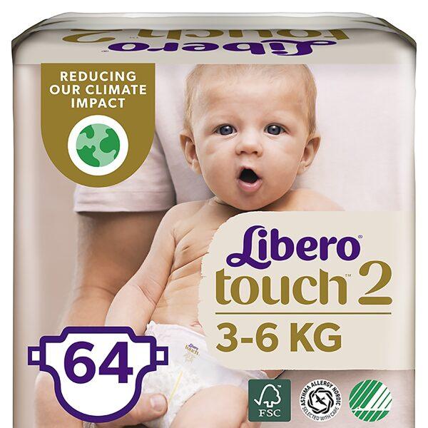 Libero TOUCH 2(64)/3-6 kg