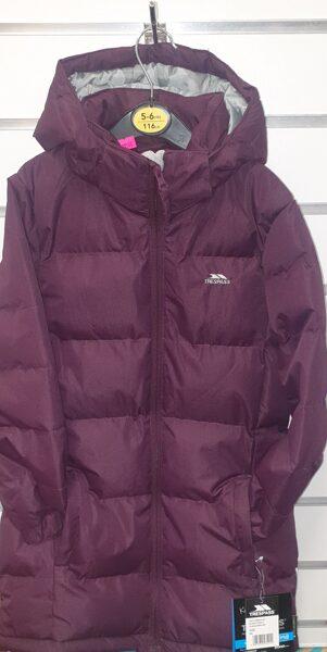 Trespass ziemas jaka, pagarināta/110-116 cm/4-5gadi