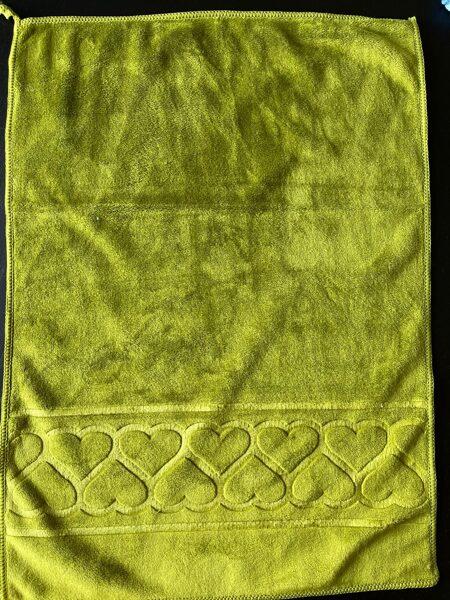 Dvielis 35x50cm/zaļš/100% microfibra