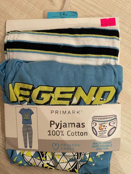 Pidžamma puišu īsas rokas/garās bikses ar uzrakstu LEGEND 104 cm 3-4 g