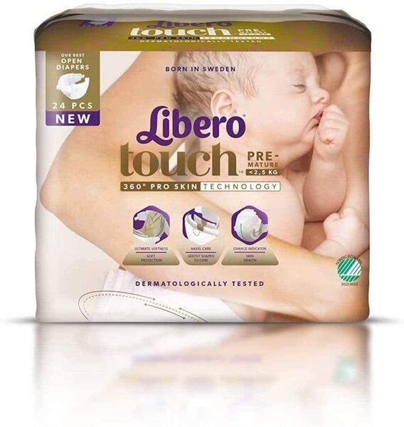 Libero TOUCH 0(24)/līdz 2,5 kg