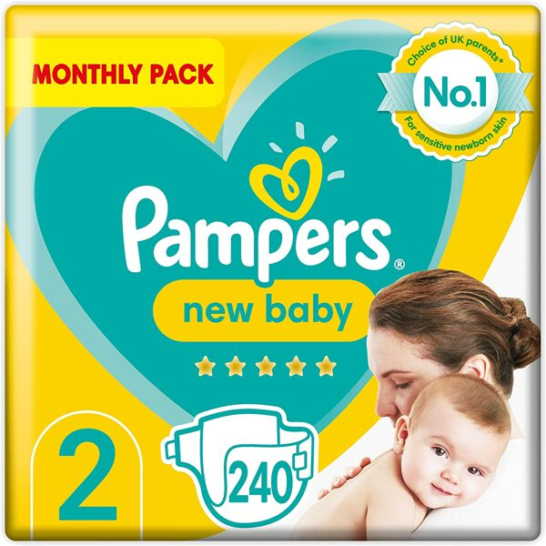 Pampers New baby 2(240)/4-8 kg