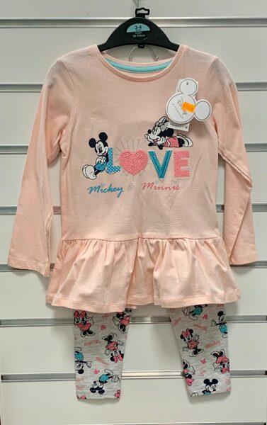 Legingi+Tunika/98-104cm/Mickey&Minnie LOVE