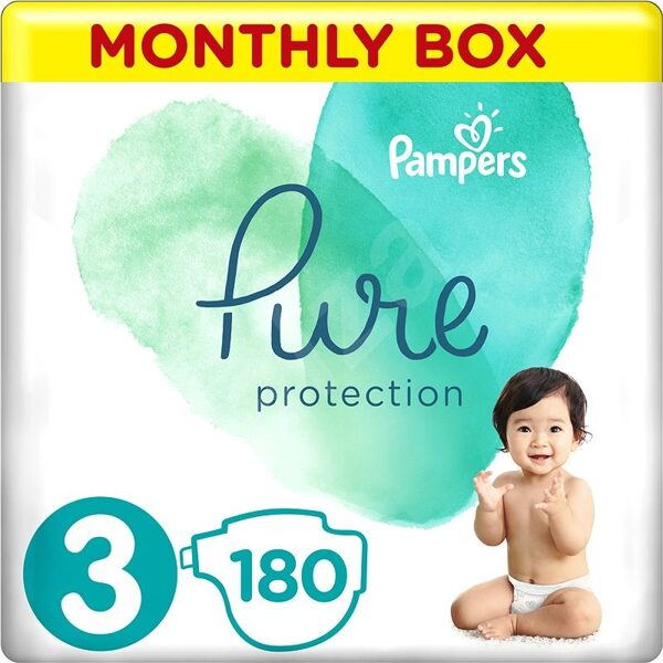 Pampers Pure 3(180)6-10 kg