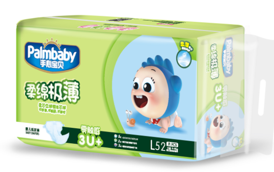 PalmBaby Premium klipši L(52)/9-14 kg