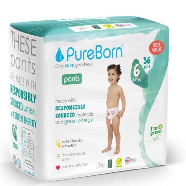 PureBorn pants 6(36)/16+ kg
