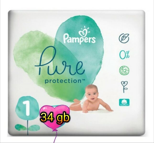 Pampers Pure 1(34)/2-5 kg