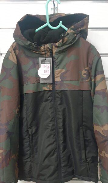 Rudens,ziemas jaka/11-12gadi/152cm/Armijas krāsās.