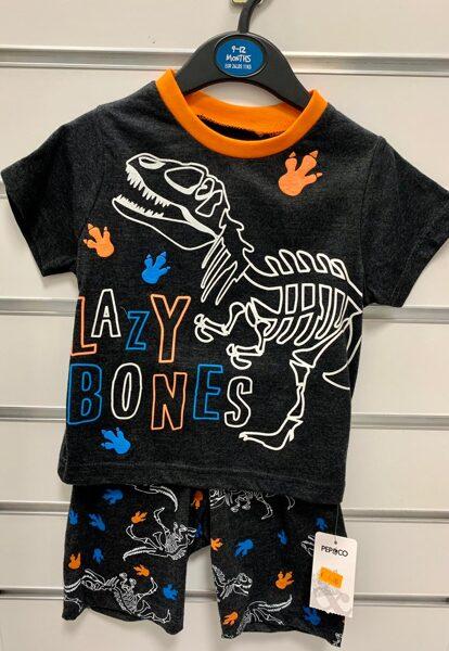 Vasaras komplekts-īsroku krekls+Šorti/9-12 mēn./Lazy Bones/Pep&Co