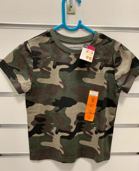 Īsroku krekls/2-3 gadi/98cm/Armijas krāsās