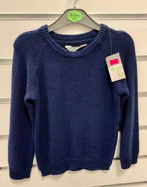 Adīts džemperis 18-24 mēn./92cm/Zils