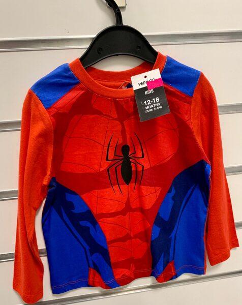 Garroku krekls 12-18 mēn/Spiderman/Pepco