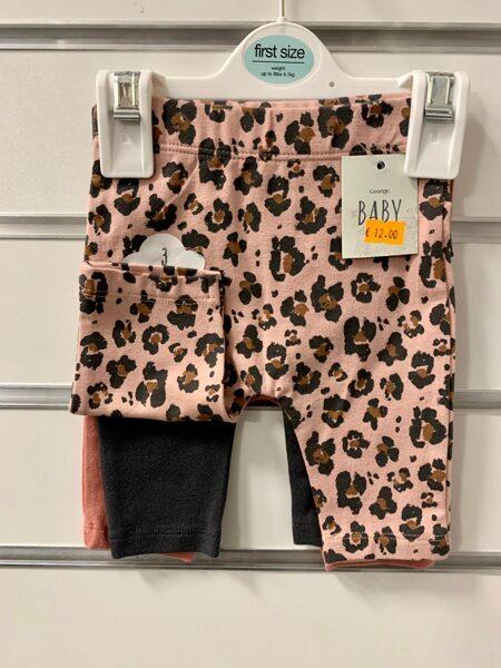 Bikses 3gb/līdz 4,1 kg/First size/Laša krāsas+Tumšas+rozā ar tumšiem plankumiem.