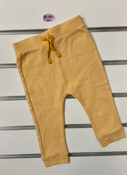 Bikses 12-18 mēn./86cm/Dzeltenas