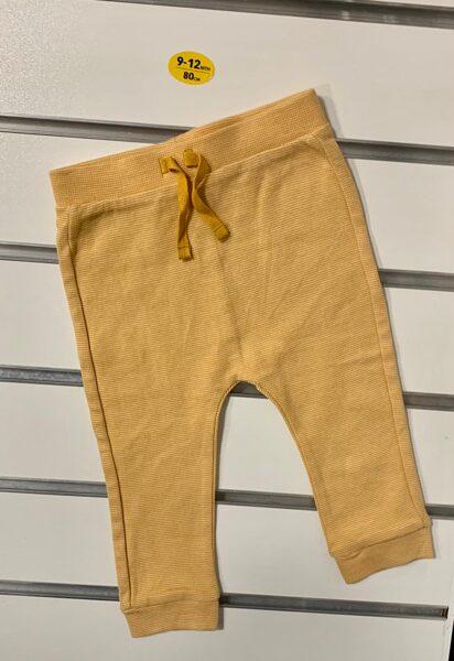 Bikses 9-12 mēn./80cm/Dzeltenas