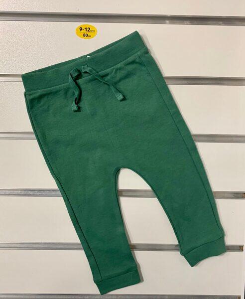 Bikses 9-12 mēn./80cm/Tumši zaļas.