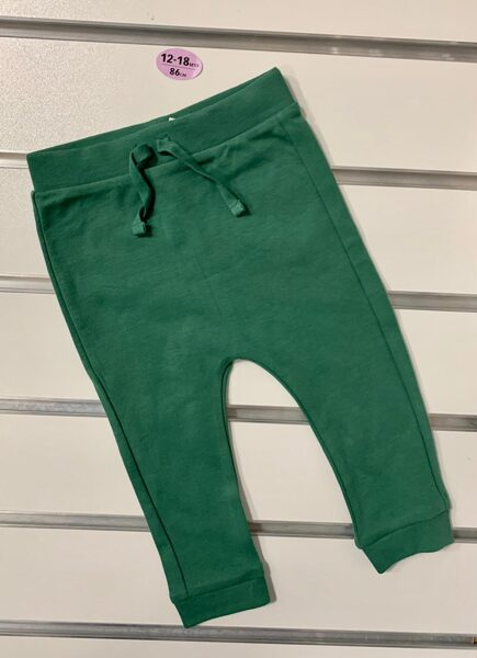 Bikses 12-18 mēn./86cm/Tumši zaļas