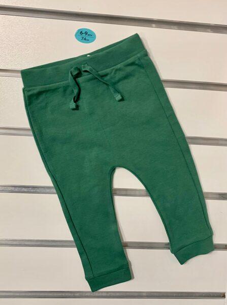 Bikses 6-9 mēn./74cm/Tumši zaļas
