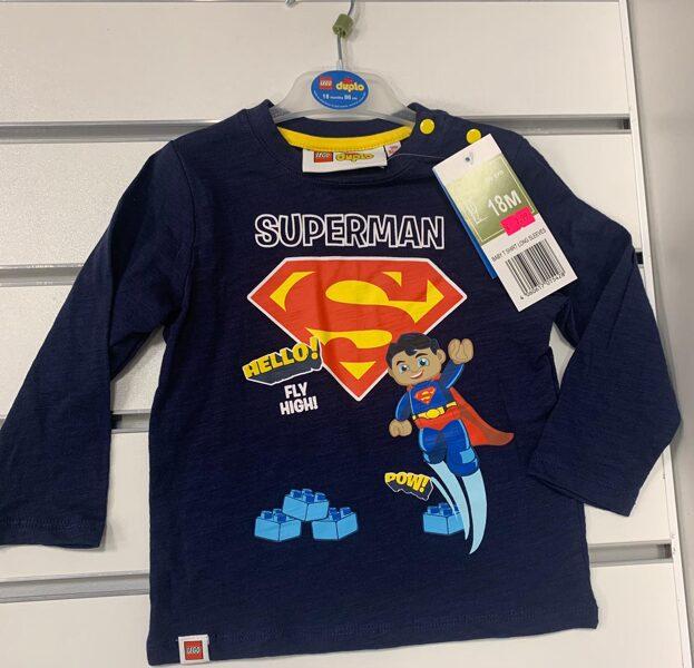 Garroku krekliņš Superman/18 mēn./86cm/Lego Duplo