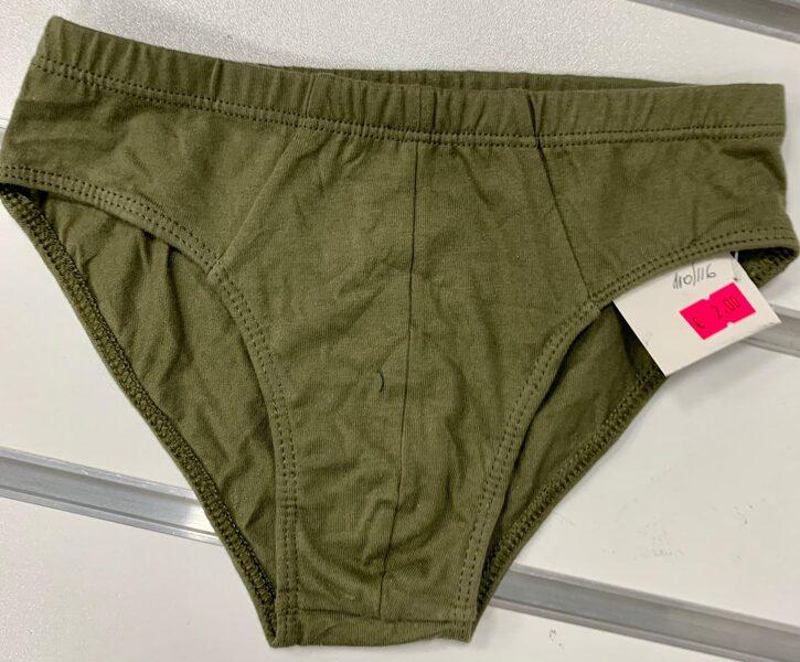 Apakšbikses zēniem 1gb/110-116cm/Haki zaļas