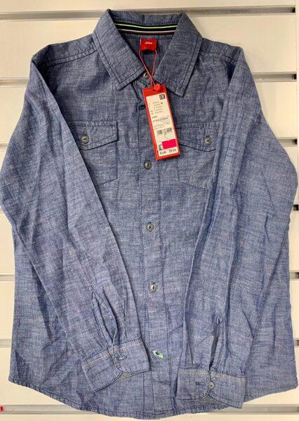 Garroku krekls 9-10 gadi/Zils, džinsveida