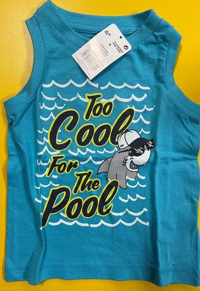 Bezroku krekls 12-18 mēn./86cm/Zils/Too Cool for the Pool