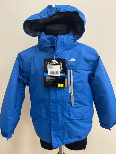 Rudens-ziemas kurtka/3-4 gadi/98-104cm/Zila ar siltinātu iekšu/Kids Trespass