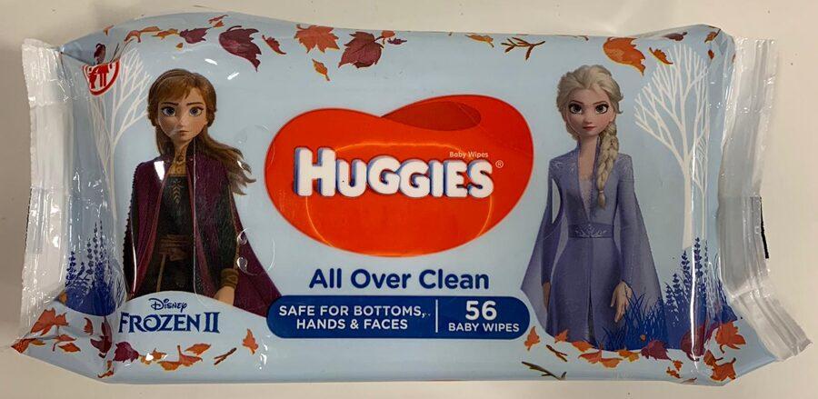Huggies mitrās salvetes Frozen 56 gb