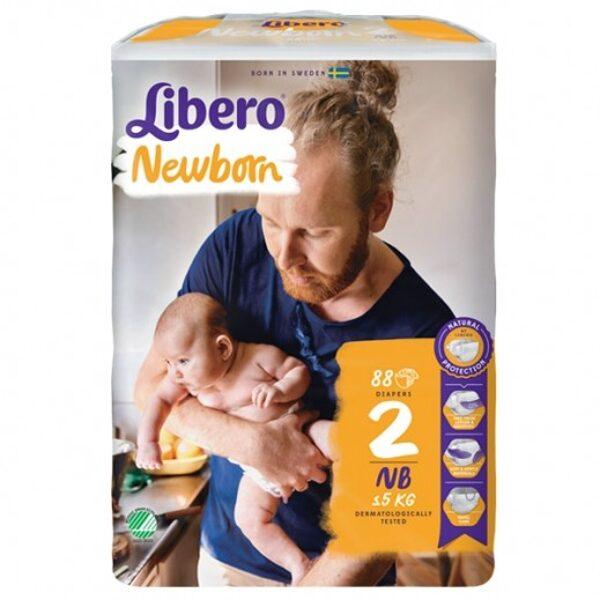 Libero NewBorn 2(88)/3-6 kg