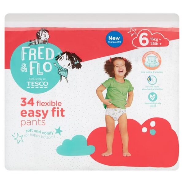 Fred & Flo ultra dry 6.izm.  PANTS 16+ kg 34 gb