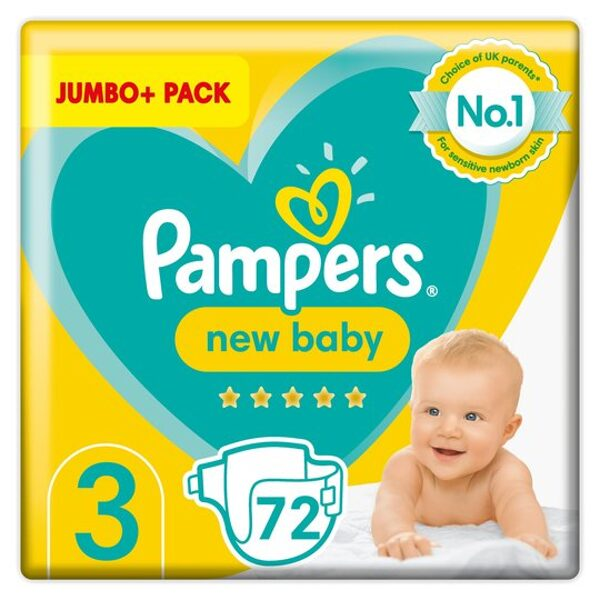 Pampers New baby 3(72)/6-10 kg