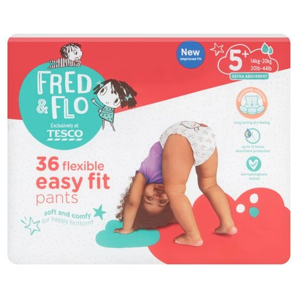 Fred & Flo ultra dry 5+.izm.  PANTS 14-20 kg 36 gb