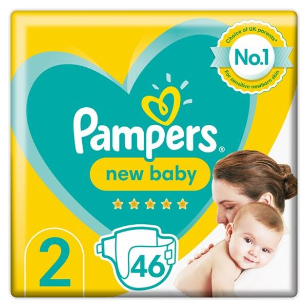 Pampers New baby 2(46)/4-8 kg
