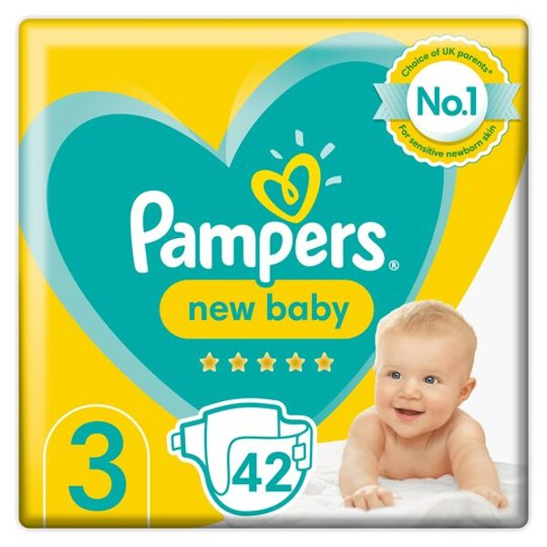 Pampers New baby 3(42)/6-10 kg
