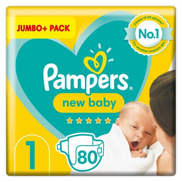 Pampers New baby 1(80)/2-5 kg