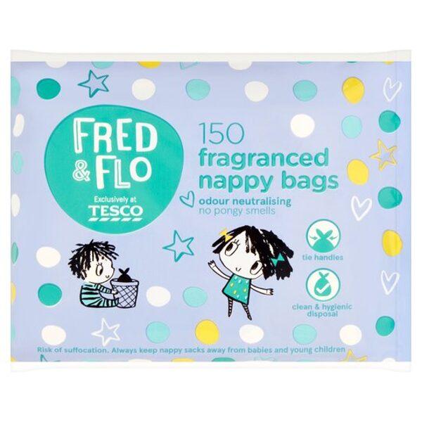 Fred & Flo maisiņi izlietotajiem pamperiem 150 gb