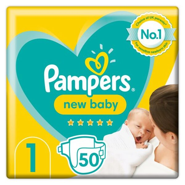Pampers New baby 1(50)/2-5 kg