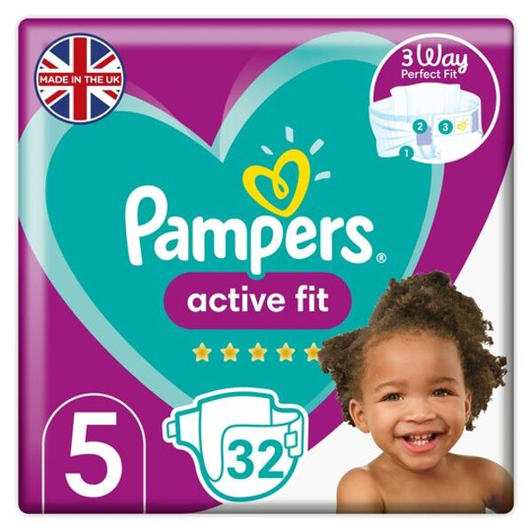 Pampers Active Fit 5(32)/12-17 kg